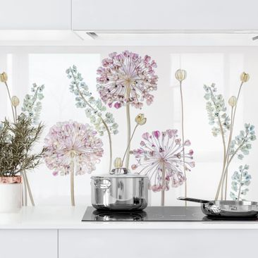 Product picture Self-adhesive splashback - Allium...