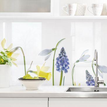 Immagine del prodotto Rivestimento cucina - Fiori di primavera
