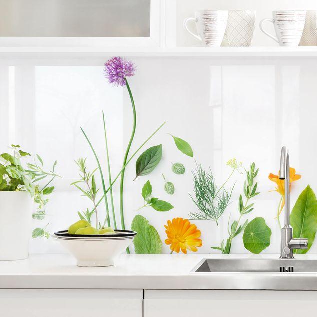 Immagine del prodotto Rivestimento cucina - Fiori ed aromi I