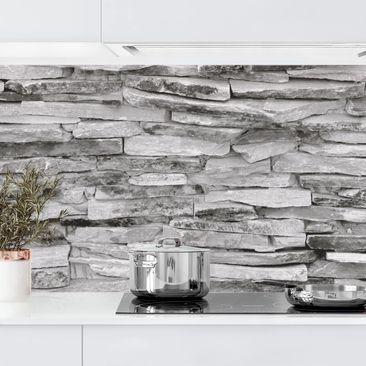 Produktfoto Küchenrückwand - Arizona Stonewall, selbstklebend mit hochglänzender Öberfläche, Artikelnummer 232309-FV