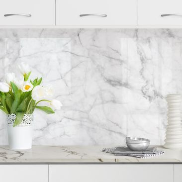 Product picture Self-adhesive splashback - Bianco...