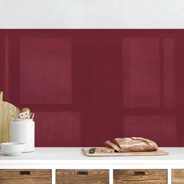 Produktfoto Küchenrückwand - Bordeaux, selbstklebend mit hochglänzender Öberfläche, Artikelnummer 232324-FV