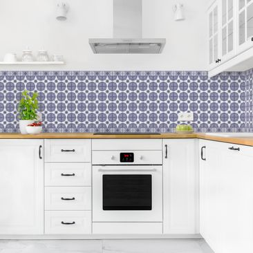 Product picture Self-adhesive splashback - Geometric...