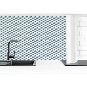 Product picture Self-adhesive splashback - Geometric...