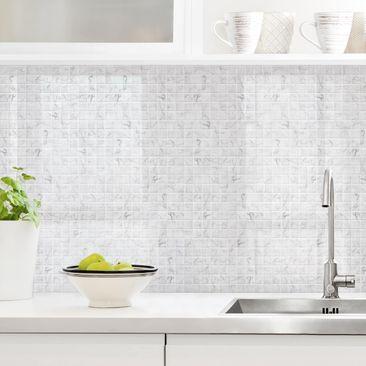 Immagine del prodotto Rivestimento cucina - Mosaici in marmo bianco Carrara
