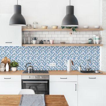 Product picture Self-adhesive splashback - Mosaic Tiles...