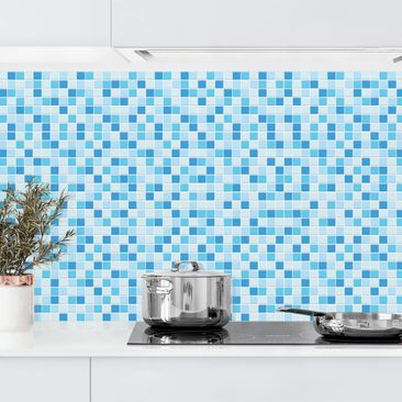 Product picture Self-adhesive splashback - Mosaic Tiles...