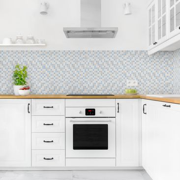 Product picture Self-adhesive splashback - Mosaic Tile...