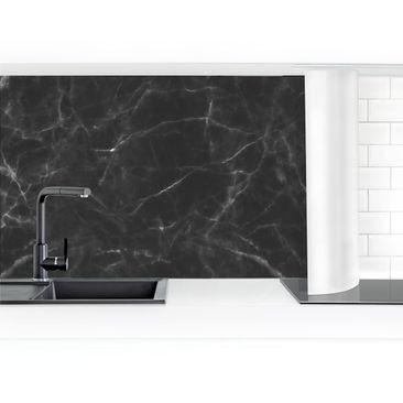 Product picture Self-adhesive splashback - Nero Carrara