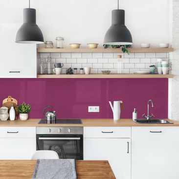 Product picture Self-adhesive splashback - Orchid