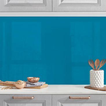 Produktfoto Küchenrückwand - Petrol vergrößerte Ansicht in Wohnambiente Artikelnummer232439-XWA