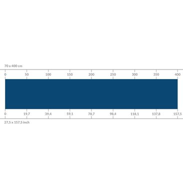 Product picture Self-adhesive splashback - Prussian Blue
