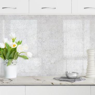 Produktfoto Küchenrückwand - Tapete Beton Ciré hell, selbstklebend mit hochglänzender Öberfläche, Artikelnummer 232462-FV