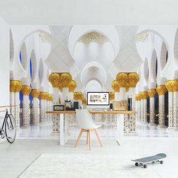 Produktfoto Tapete selbstklebend - Moschee in Gold - Fototapete Querformat