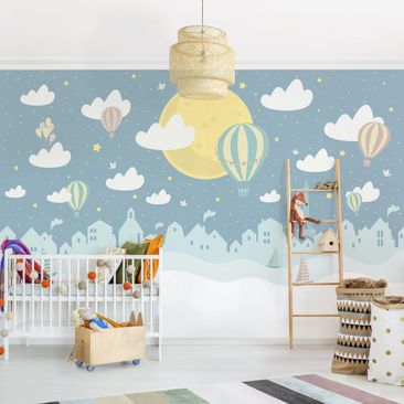 Product picture Photo Wall Mural - Paris With Stars And...