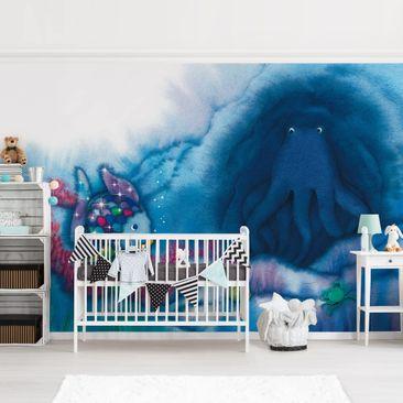 Immagine del prodotto Carta da parati adesiva bambini - Il Pesce Arcobaleno 2