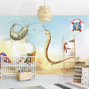Produktfoto Selbstklebende Tapete Kinderzimmer - Die kleine Seenadel© Muschel - Fototapete Querformat