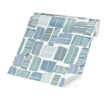 Product picture Photo Wall Mural - Stripes In The Box In...