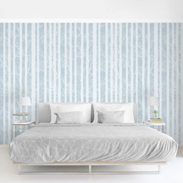 Product picture Photo Wall Mural - Forest Elegy -...