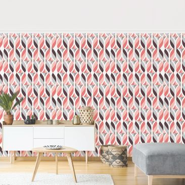 Product picture Photo Wall Mural - Wavy Bands -...