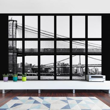 Product picture Photo Wall Mural - Window Bridges New...