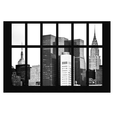 Product picture Photo Wall Mural - Window Manhattan...