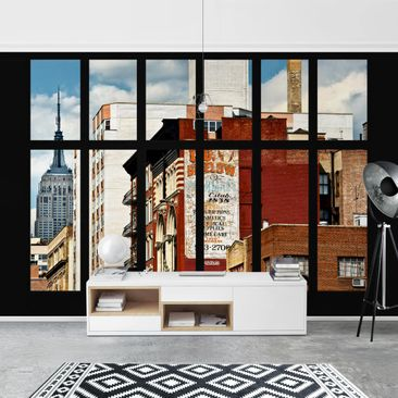 Product picture Photo Wall Mural - Window View Of New...