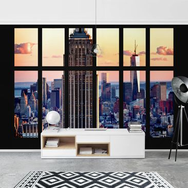 Product picture Photo Wall Mural - Window View Of The...
