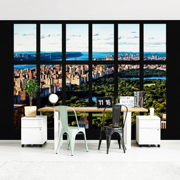 Product picture Photo Wall Mural - Window View New...