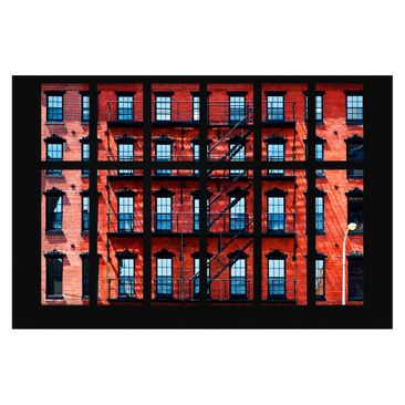 Product picture Photo Wall Mural - Window View Red...