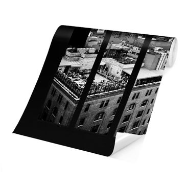 Product picture Photo Wall Mural - New York Window View...