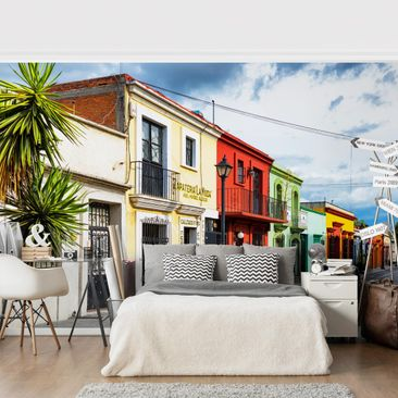Product picture Photo Wall Mural - Colorful Facades...