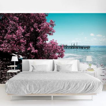 Product picture Photo Wall Mural - Paradise Beach Isla...