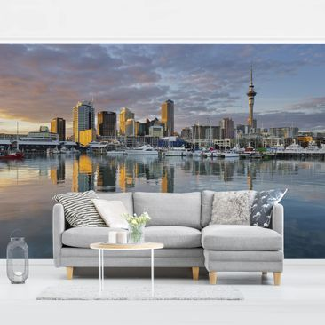 Product picture Photo Wall Mural - Auckland Skyline...