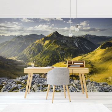 Product picture Photo Wall Mural - Mountains And Valley...