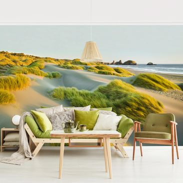 Product picture Photo Wall Mural - Dunes And Grasses At...