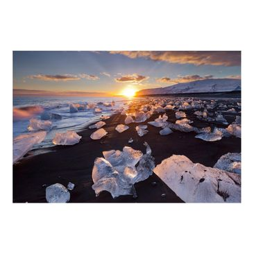 Product picture Photo Wall Mural - Chunks Of Ice On The...