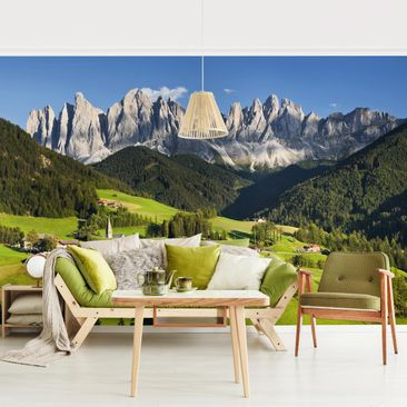 Product picture Photo Wall Mural - Odle In South Tyrol -...
