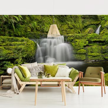 Product picture Photo Wall Mural - Lower Mclean Falls In...