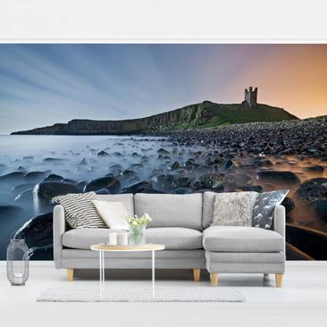 Product picture Photo Wall Mural - Sunrise With Fog At...