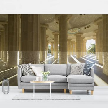 Product picture Photo Wall Mural - Columns Play Of...