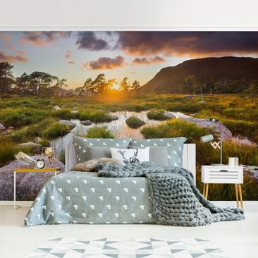 Product picture Photo Wall Mural - Tverrdalsbekken In...