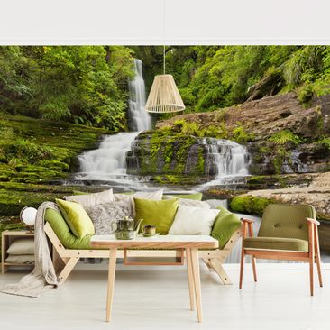 Product picture Photo Wall Mural - Upper Mclean Falls In...