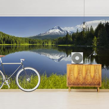 Product picture Photo Wall Mural - Volcano With Water...