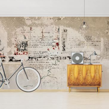 Product picture Photo Wall Mural - Old Concrete Wall...