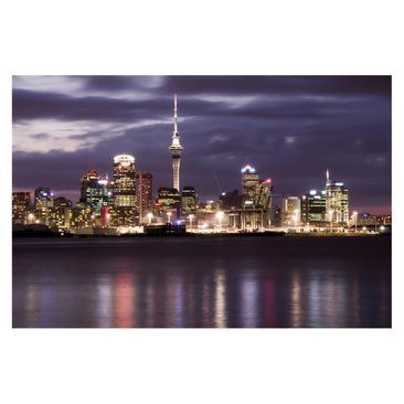 Product picture Photo Wall Mural - Auckland At Night -...
