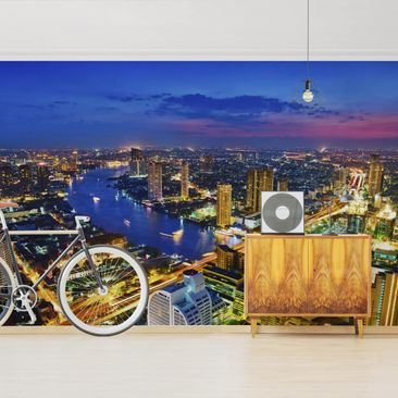 Product picture Photo Wall Mural - Bangkok Skyline -...