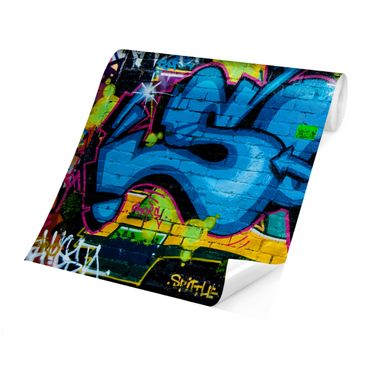 Product picture Photo Wall Mural - Colors Of Graffiti -...