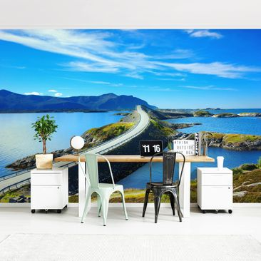 Product picture Photo Wall Mural - Crossing Norway -...