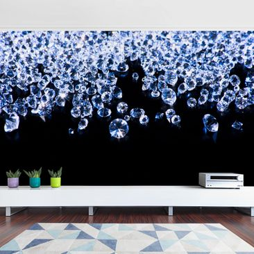 Product picture Photo Wall Mural - Diamonds Shine -...